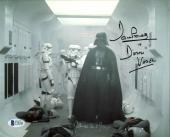 James Earl Jones & David Prowse Star Wars Signed 8X10 Photo BAS C19446