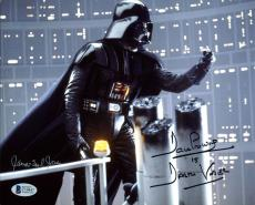 James Earl Jones & David Prowse Star Wars Signed 8X10 Photo BAS C19447