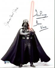 James Earl Jones & David Prowse Star Wars Signed 8X10 Photo BAS C19448