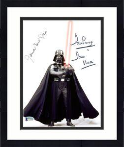 James Earl Jones & David Prowse Star Wars Signed 8X10 Photo BAS C19448