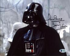 James Earl Jones & David Prowse Star Wars Signed 8X10 Photo BAS C19449