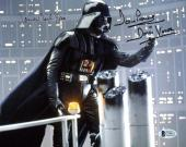 James Earl Jones & David Prowse Star Wars Signed 8x10 Photo BAS C19451