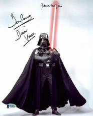 James Earl Jones & David Prowse Star Wars Signed 8x10 Photo BAS D78531