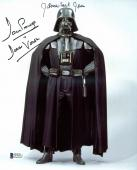 James Earl Jones & David Prowse Star Wars Signed 8x10 Photo BAS D78533