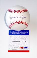 James Earl Jones Field Of Dreams Signed Major League Baseball Psa Coa P64361