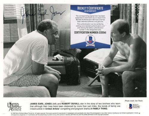 James Earl Jones Great American Actor Signed Autographed 8x10 Photo Beckett E333