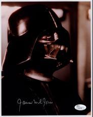 JAMES EARL JONES HAND SIGNED 8x10 COLOR PHOTO     STAR WARS DARTH VADER      JSA