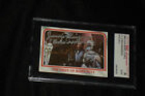 James Earl Jones & Jason Wingreen 1980 Topps Star Wars Signed Auto Card #91 Sgc