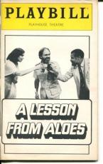 James Earl Jones Maria Tucci Athol Fugard A Lesson From Aloes Playbill