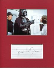 James Earl Jones Rare Star Wars Darth Vader Voice Signed Autograph Photo Display
