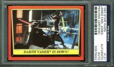 James Earl Jones Signed 1983 Star Wars Card #121 PSA/DNA Slabbed