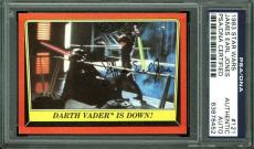 James Earl Jones Signed 1983 Star Wars Card #121 PSA/DNA Slabbed