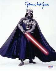 James Earl Jones Signed 8x10 Photo Darth Vader Star Wars Autograph Psa Coa B