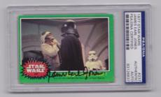 JAMES EARL JONES Signed Auto 1977 STAR WARS Topps card #237 - PSA DNA 83126637