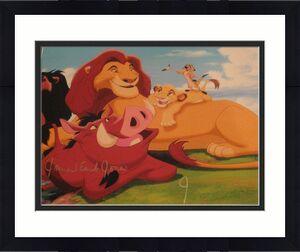 JAMES EARL JONES SIGNED AUTOGRAPH 8x10 PHOTO LION KING IN PERSON COA RARE COA D