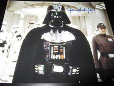 JAMES EARL JONES SIGNED AUTOGRAPH 8x10 PHOTO STAR WARS DARTH VADER PROMO COA X4