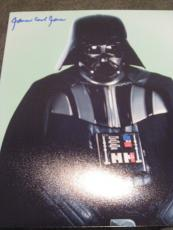 JAMES EARL JONES SIGNED AUTOGRAPH 8x10 STAR WARS PROMO DARTH VADER IN PERSON I