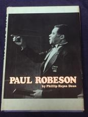 James Earl Jones Rare Signed Autograph Paul Robeson Play Book