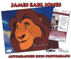 JAMES EARL JONES Signed Autographed 8x10 PHOTO - JSA #I84573