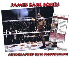 JAMES EARL JONES Signed Autographed 8x10 PHOTO - JSA #I84574