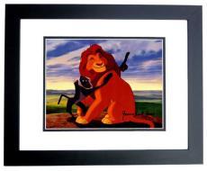 James Earl Jones Signed - Autographed The Lion King 8x10 inch Photo BLACK CUSTOM FRAME - Guaranteed to pass PSA or JSA