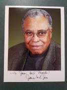 Signed Earl Jones Photo - James 69