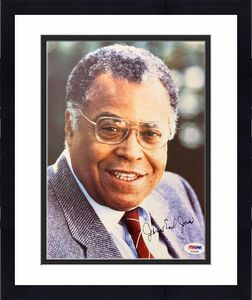 James Earl Jones Signed Photo PSA/DNA 8x10 Autograph Star Wars Darth Vader