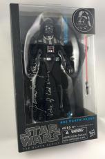 James Earl Jones Signed Star Wars Darth Vader Black 6'' Figure Toy PSA/DNA COA