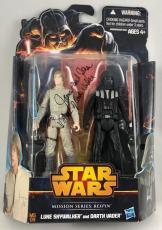 James Earl Jones Signed Star Wars Darth Vader Mission Figure Toy PSA/DNA COA