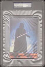 JAMES EARL JONES Signed STAR WARS Darth Vader Postcard PSA/DNA SLABBED #83930062