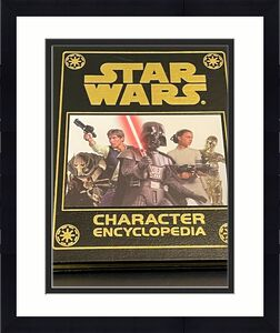 James Earl Jones Star Wars Character Encyclop Easton Press Signed Autograph Book
