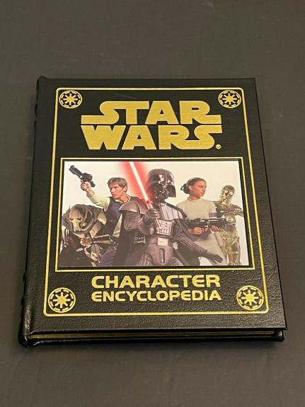 James Earl Jones Star Wars Character Ency Easton Press Signed Autograph Book JSA