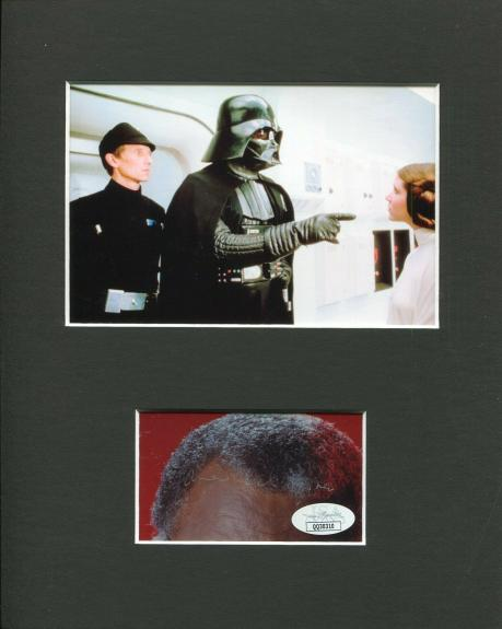 James Earl Jones Star Wars Darth Vader Voice Signed Autograph Photo Display