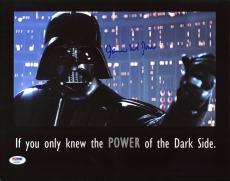 James Earl Jones Star Wars Signed 11X14 Photo PSA/DNA #AB43681