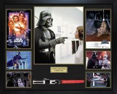 James Earl Jones Star Wars Signed Darth Vader Lightsaber w Display Case