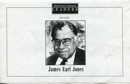 James Earl Jones Star Wars Star Distinguish Leaders Colorado State Event Program