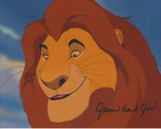 """JAMES EARL JONES Voice of MUFASA in the 1994 Movie """"THE LION KING"""" Signed 10x8 Color Photo"""
