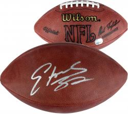 Edgerrin James Signed Football - Mounted Memories