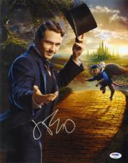 James Franco SIGNED 11x14 Photo Oz the Great and Powerful PSA/DNA AUTOGRAPHED