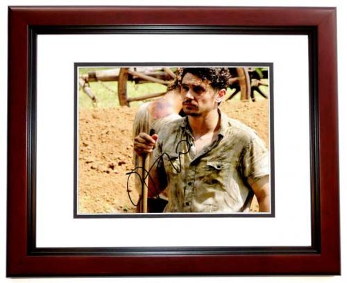 James Franco Signed - Autographed As I Lay Dying 8x10 inch Photo MAHOGANY CUSTOM FRAME - Guaranteed to pass PSA or JSA