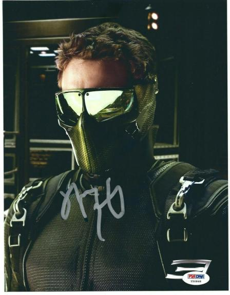 James Franco Signed 'Spider-Man 3' 8.5x11 Photo PSA Y50848