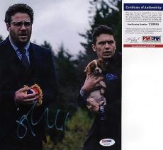 James Franco The Interview Signed 8x10 Photo PSA DNA COA Autograph Seth Rogen