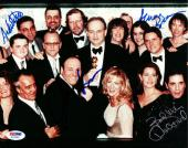James Gandolfini, David Proval & 2 Others Autographed Signed 8x10 Photo PSA/DNA