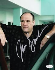 James Gandolfini Signed 8x10 Photo The Sopranos Tony Authentic Autograph Jsa