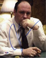 James Gandolfini Sopranos Autographed Signed 8x10 Photo Authentic PSA/DNA COA