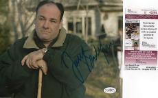 James Gandolfini The Sopranos Signed 8x10 JSA COA Full Signature Autograph