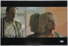 James Gandolfini/Arquette Signed True Romance Auto 12x18 Photo PSA/DNA #Z09690