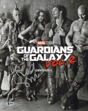 James Gunn Signed 11x14 Photo BAS Beckett COA Guardians of the Galaxy Autograph