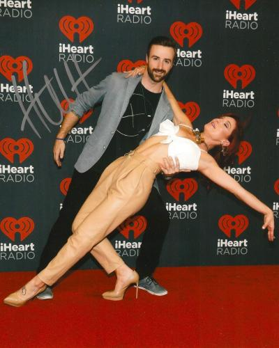 JAMES HINCHCLIFFE signed 8x10 DANCING WITH THE STARS photo IRL INDY with COA A