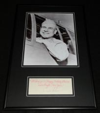 James Jimmy Doolittle Signed Framed 12x18 Photo Display AW Raiders